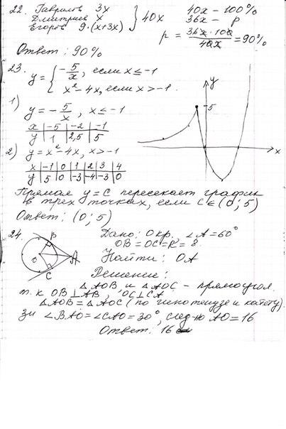 Вариант по математике база 137-33-21